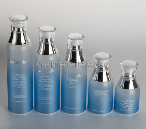 30ml 50ml 100ml 120ml 150ml PETG airless bottle with outside spring pump