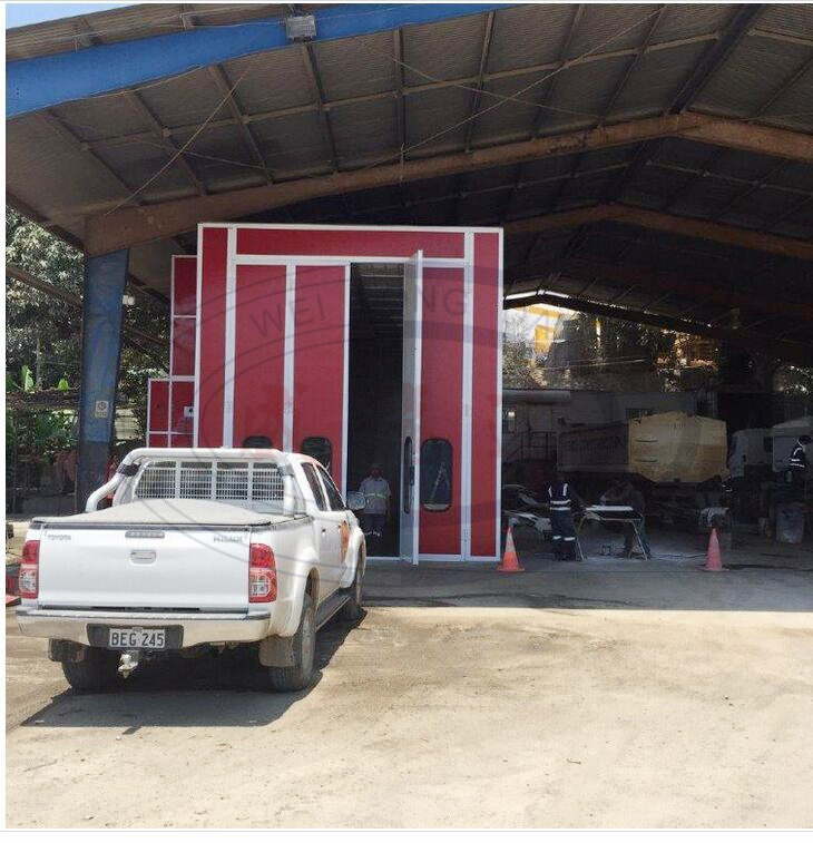 WLD15000 CE large size Bus truck Spray Booth/ Bus Painting Room