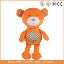 Coloured Bear Toy Teddy,Plush Orange Teddy Bear