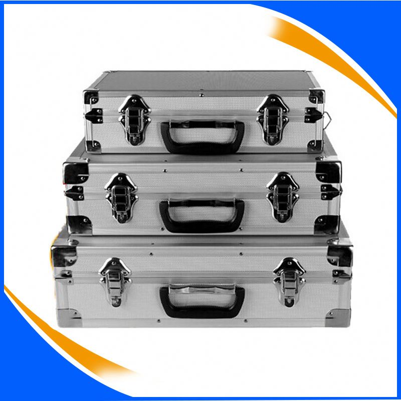 Aluminium Case with Foam empty Aluminum Case Tool Kit aluminum Tools