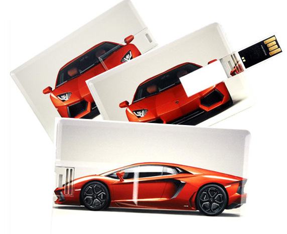 Top Sale Plstic Card Usb Flash Drive Prining