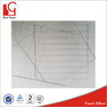 washable media flat panel air filter