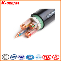 International Standard 0.6/1kV Copper XLPE cable PVC sheathed Power Cable