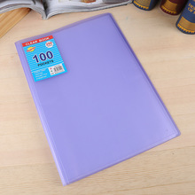 A4 30 pocket stationary folders filing books display pocket pp clear book