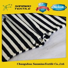 SANMIAO Brand stylish new designs wicking blue and white stripes fabric SBWHCP-165