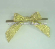 "2"" Meatllic Ribbon Butterfly Bow,Butterfly Tie for Gift Packing/Garment Decoration/hair decoration"