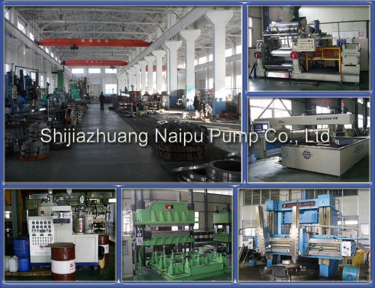 Shijiazhuang Metal and Rubber Lined Centrifugal Slurry Pump