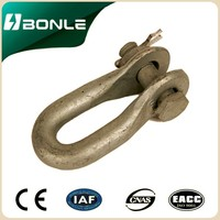 High Quality Shackle,Galvanized shackles,Electric shackle