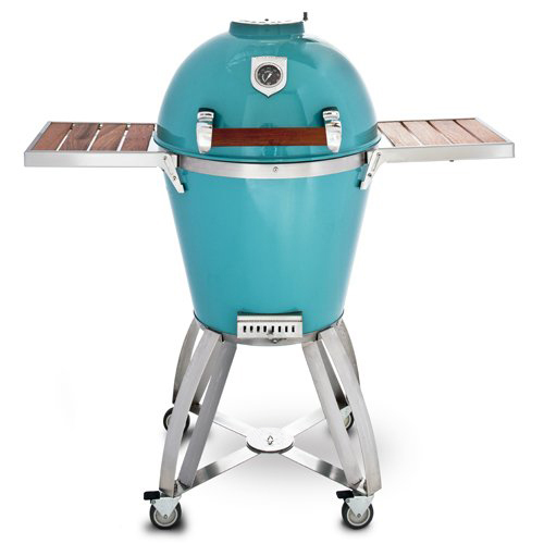 Kamado bbq grill stainless steel charcoal