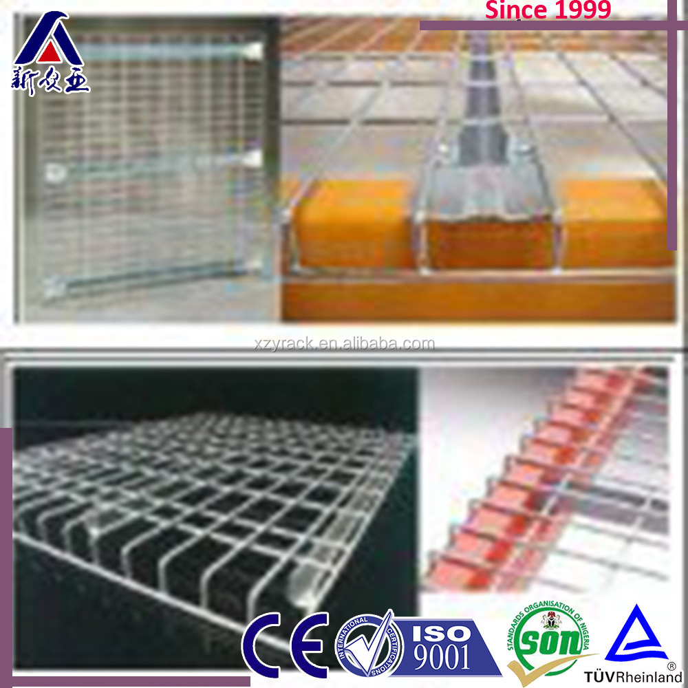 Pallet Racking Galvanized Welded Steel Wire Deck Panel