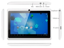 Good quality android tablet Allwinne A33 quad core android 4.4 tablet