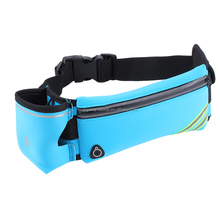 Water Resistant Running Belt Waist Pack with Water Bottle Holder,Reflective Fanny Bag for Smart Phone in Running Walking