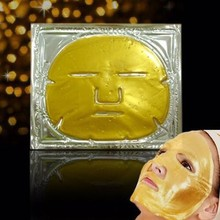 Private label spa anti wrinkle firming hydrating gold bio collagen facial mask