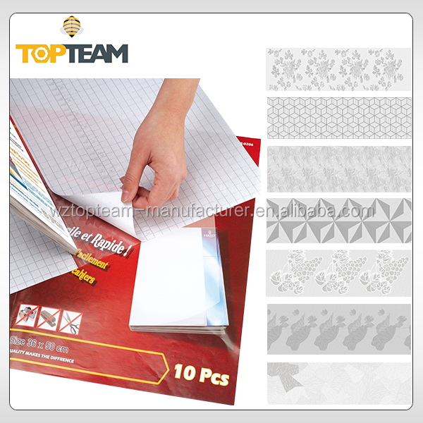 PVC Textured Book Cover Material Self Adhesive Covering Clear Wrap