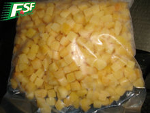 2016 new IQF diced yellow peaches