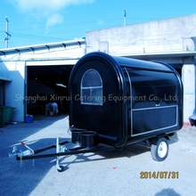 commercial outdoor mobile cafe carts food