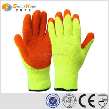 SUNNYHOPE cheap 7gauge winter cut gloves shipping from china