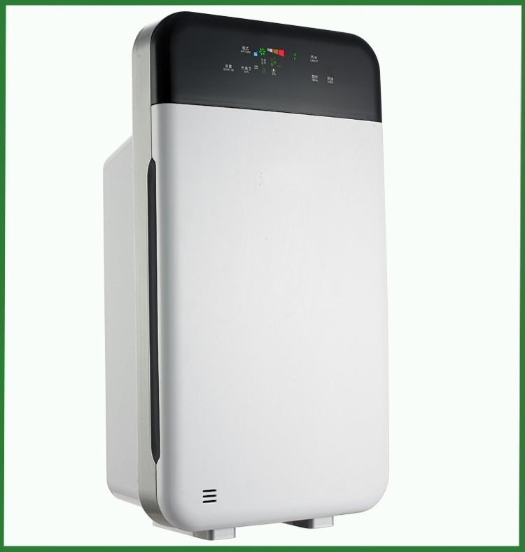 Home hepa ionic ozone air purifier for hotel and commercial zone use