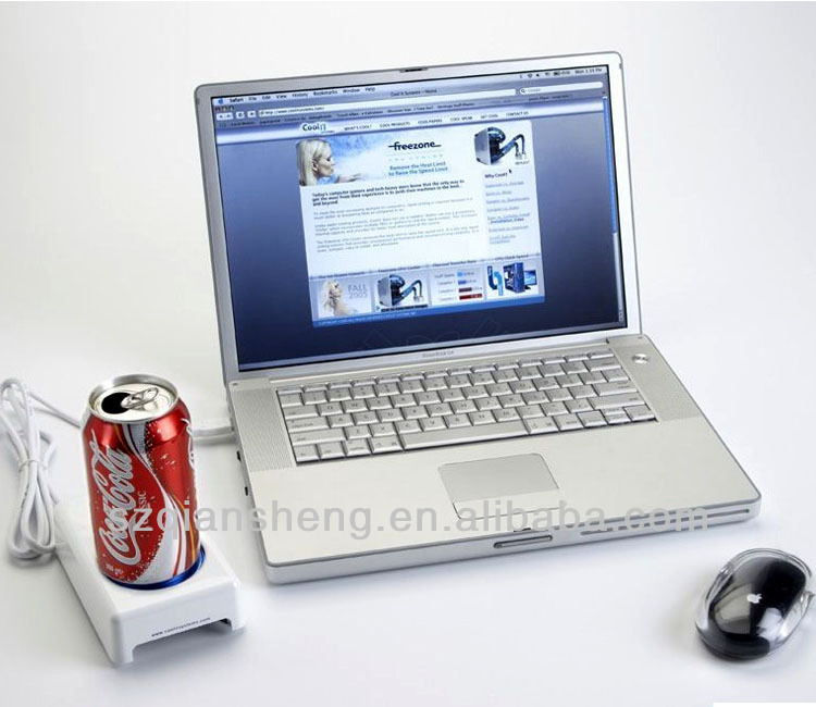 Mini Portabl USB Warmer&Cooler/ USB Gadget