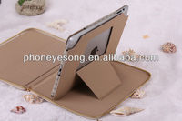 High-end grade atmosphere fashionable with zipper case for ipad