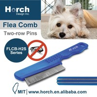 Vet recommended pet products dog quality two raw pins tick comb