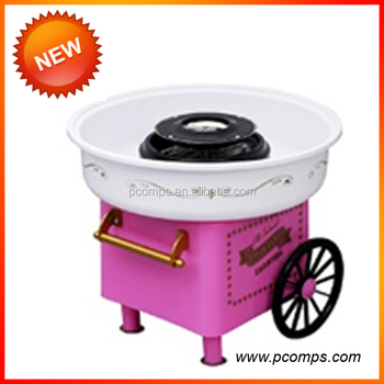Retro Cotton Candy Machine Automatic Fancy Cotton Candy Machine Floss