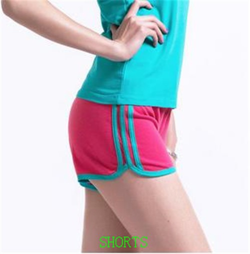 High waisted shorts women and 100% women wholesale athletic shorts made in china