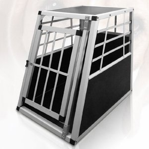 Aluminum transport Dog Travel Carrier Crate Cages