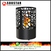 Round Table Top Ethanol Fireplace