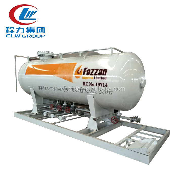 Chengli Special Automobile Co.Ltd made lpg tankers used lpg filling stations