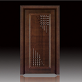 factory price Modern and environment-proof carved wooden door