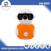Gwsecu portable 1.3mp mini hidden ip wifi camera realtime baby monitor use system
