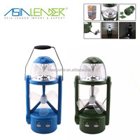 Multi-function 26+1 LED Rechargeable Camping lantern with fan