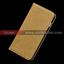 Leather Factory Cell Phone Case for Iphone 7 Plus Customization