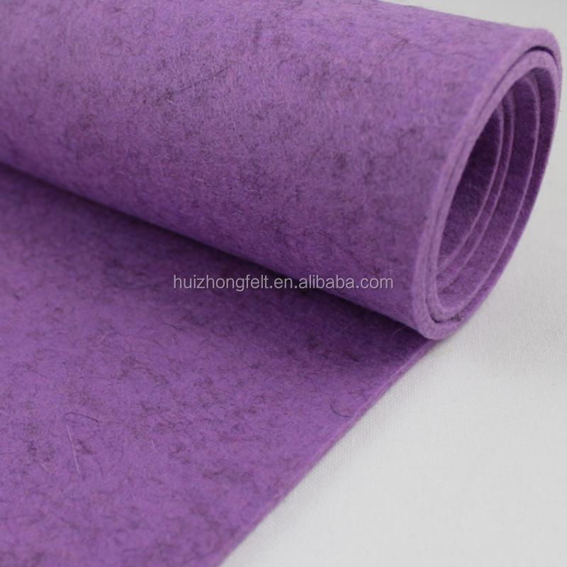 Needle-Punched Nonwoven Technics and Plain Style 100% polyester needle punched nonwoven felt
