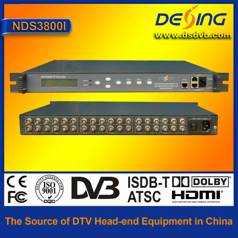 NDS3800I IP to analog converter