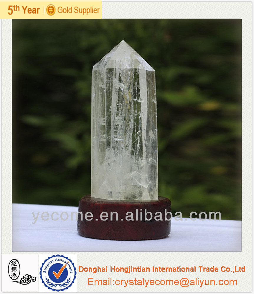 Natural Rock Quartz Crystal Point Different Sizes crystal craft