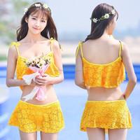 New Arrival Swim Girls Lace Beach Hand Swimwear Crochet Dress