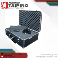 Large Hard Shell Case With Extra Protected Foam For Cameras, Camcorders, Photo / Video and Photograpic Equipment