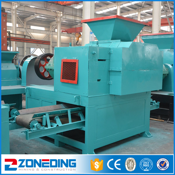 2-40 tph Clay Kaolin Peat Briquetting Press Machine