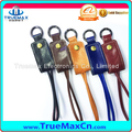 Real Leather Key Chain Style USB Cable For Samsung