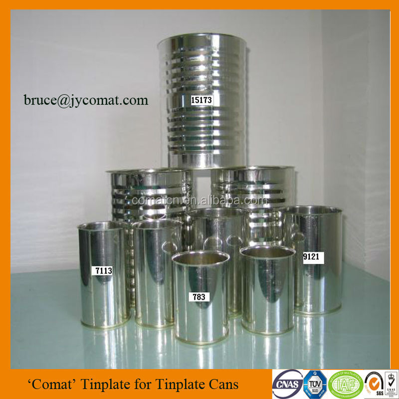 European Standard Tinplate Steel Sheet for Metal Tin Cans