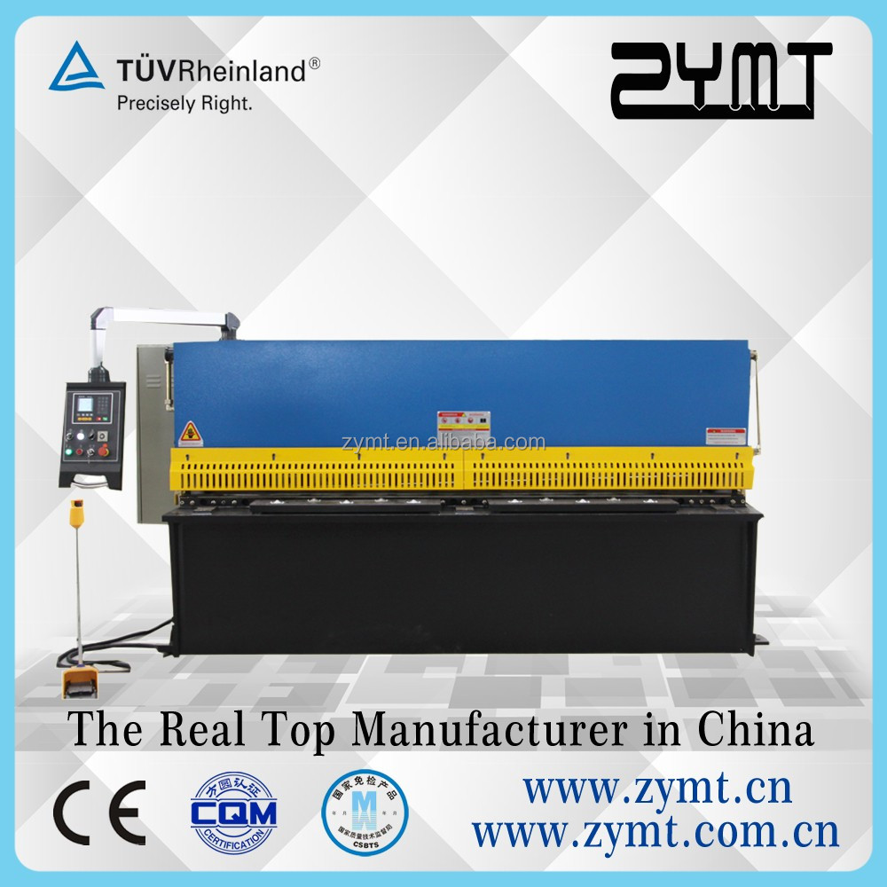rigidity and stability used hydraulic shearing machine price