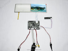 "7 inch touch screen module VGA 2AV Reversing Controller Board + 7"" AT070TN83 LCD Screen + Touch Panel"