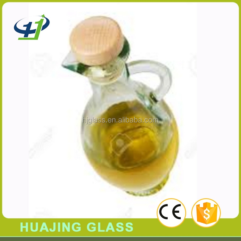glass material 250ml 8oz mini olive oil bottle wholesale