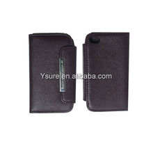 Purse Wallet Leather Case For iPhone 4 4S