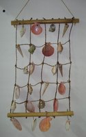 SEA SHELL CHIMES WALL DECOR