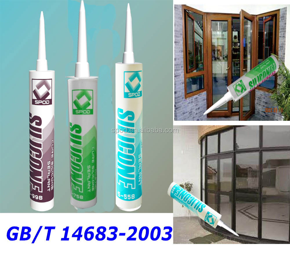Direct price acetic silicone sealant for window glass