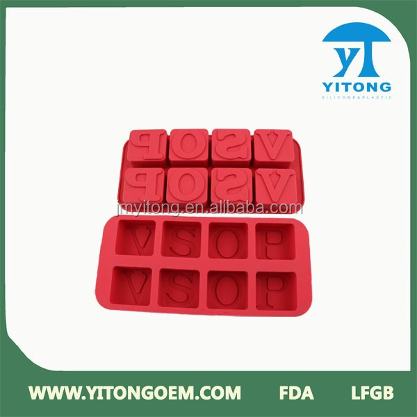 square round shapes silicone moldes silicon chocolates