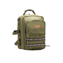 army green first aid backpack
